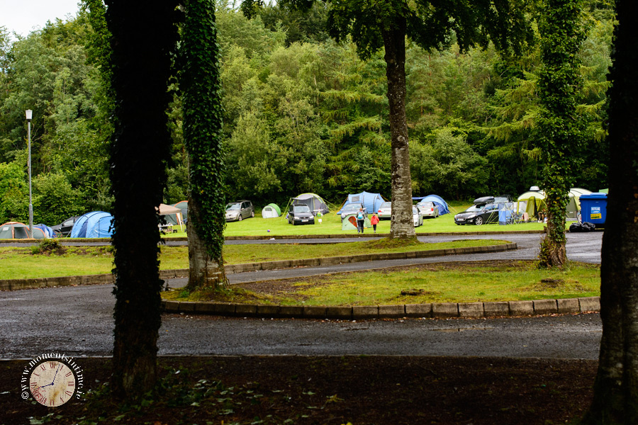 Photographs from our camping holiday in Curraghchase campsite